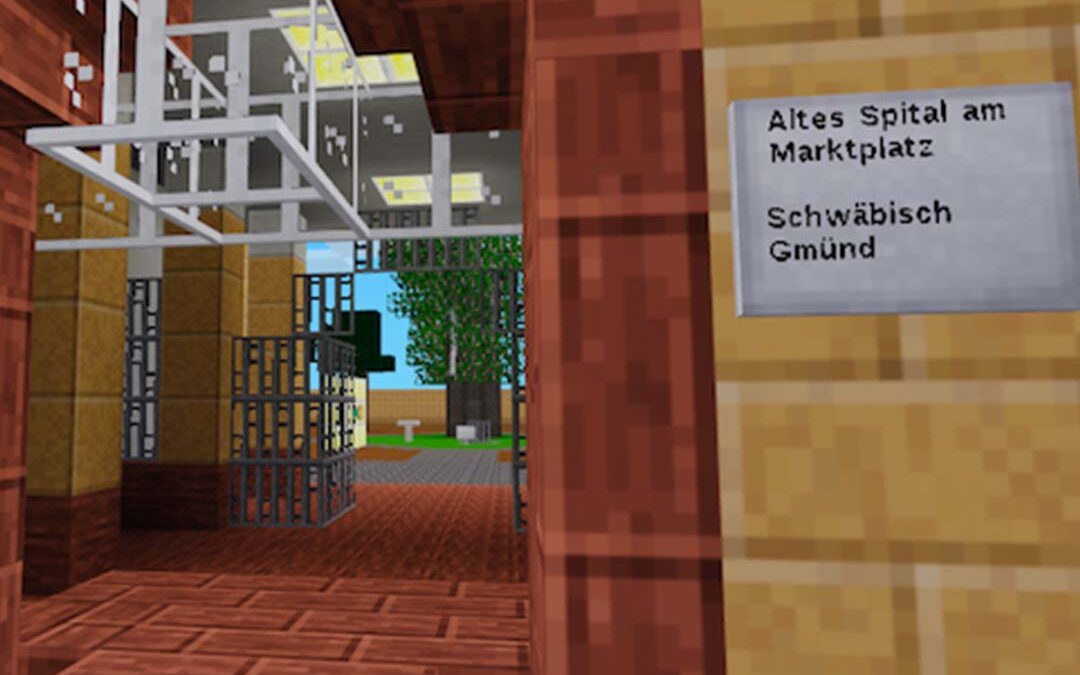 Escape Room Bauphase mit Minetest