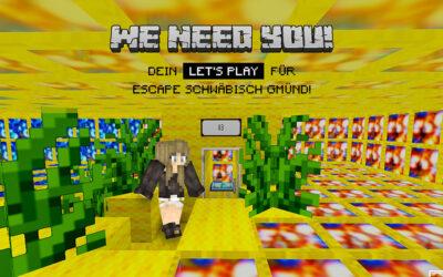 Let's Play Escape Schwäbisch Gmünd